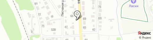 Эвакуатор Тамбов на карте Тамбова