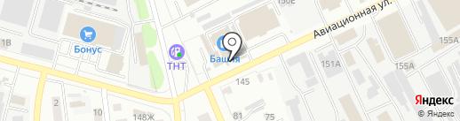 Магазин сантехники на карте Тамбова