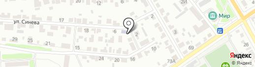 Открытый мир на карте Тамбова