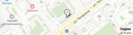 ART кубики на карте Тамбова