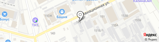 Тамбовэнерго, ПАО на карте Тамбова