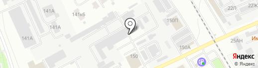 ТАЗРО-Красный богатырь на карте Тамбова