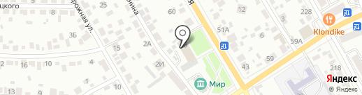 Порядок на карте Тамбова