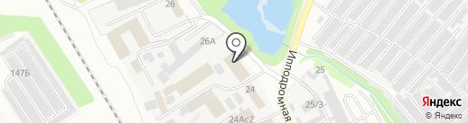 Служба грузоперевозок на карте Тамбова