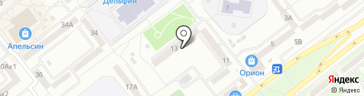 Земельный юрист Чупырь К.Ю. на карте Тамбова