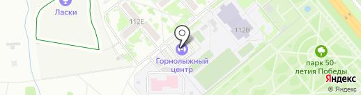 Детско-юношеская спортивно-адаптивная школа Тамбовской области на карте Тамбова