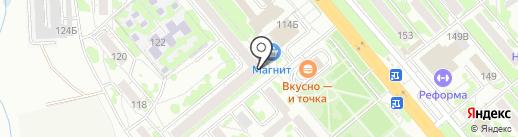 МИчуринская,114, ТСЖ на карте Тамбова