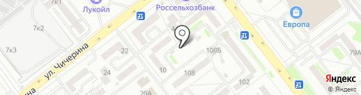 Магазин разливных напитков на карте Тамбова