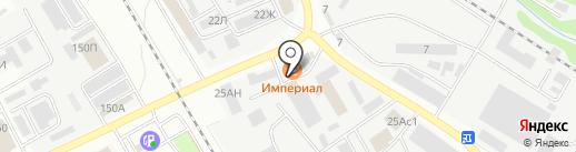 На Ипподромной на карте Тамбова