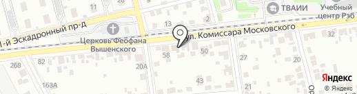 Шиномонтаж 68 на карте Тамбова