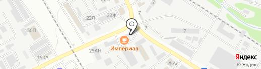 Автомойка на карте Тамбова