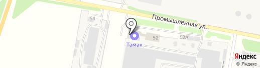 ТАМАКмонтаж на карте Строителя