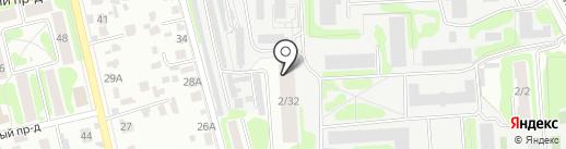 Отделение почтовой связи №6 на карте Тамбова