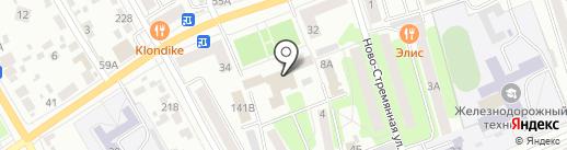 Цод на карте Тамбова