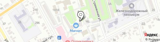 Кабинет психолога на карте Тамбова