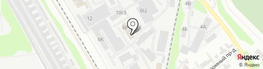 Кондитерская база на карте Тамбова