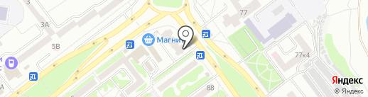 Заправочная станция на карте Тамбова