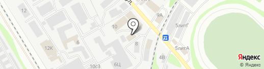ХОЛОД-СЕРВИС на карте Тамбова