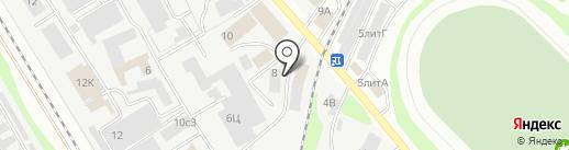База посуды на карте Тамбова