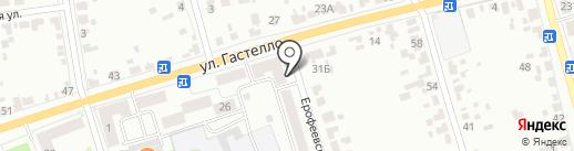 Витязь на карте Тамбова
