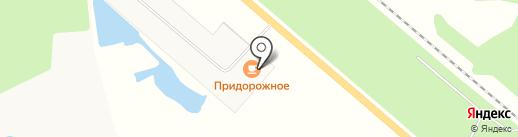 Придорожное на карте Строителя