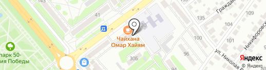 Синьор Помидор на карте Тамбова