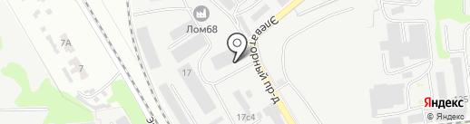 Салон Окон на карте Тамбова