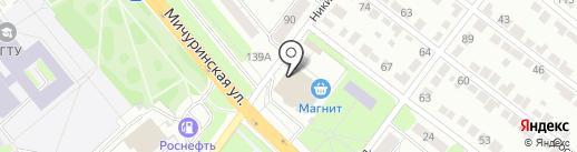 Шаурма №1 на карте Тамбова