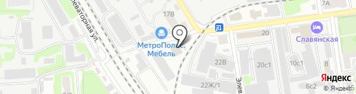 Кобальт на карте Тамбова