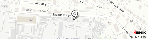 Строма-5 на карте Тамбова