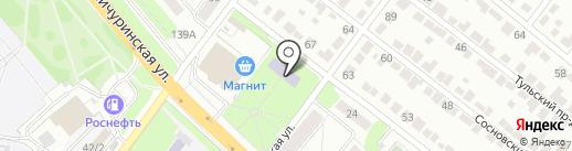 Театр-студия оперы им. Сперанских на карте Тамбова