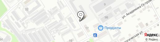 Левел-Про на карте Тамбова