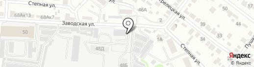 СВД на карте Тамбова