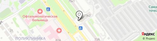 4 комнаты на карте Тамбова