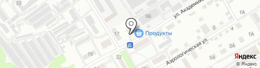 Служба автоперевозок на карте Тамбова