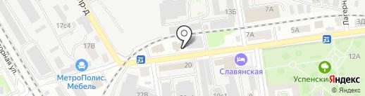 Кабинетоф на карте Тамбова