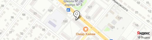 Мясная лавка на карте Тамбова