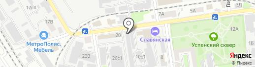 ВВ на карте Тамбова