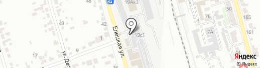 Оптово-розничный магазин игрушек на карте Тамбова