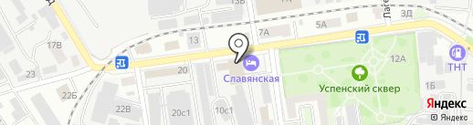 Улей Сервис на карте Тамбова