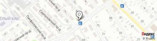 Электромонтаж на карте Тамбова