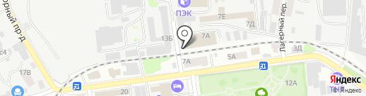 Арион на карте Тамбова