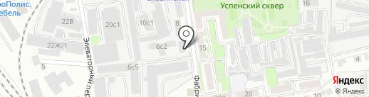 Мебельщик Плюс на карте Тамбова