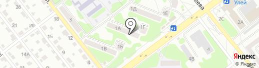Санпул на карте Тамбова