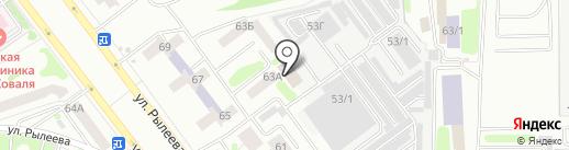 НТВ-Тамбов на карте Тамбова