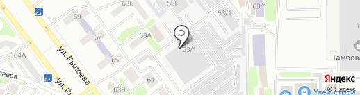 Мега Хенд на карте Тамбова