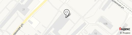 Тамбовский завод грузоподъемных машин на карте Строителя