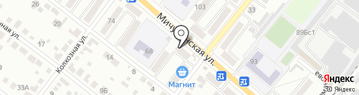 Отделение почтовой связи №18 на карте Тамбова