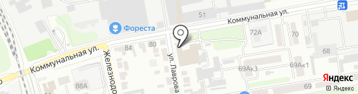 СПСР-ЭКСПРЕСС на карте Тамбова