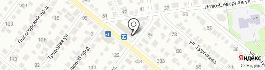 АТС №53 на карте Тамбова